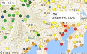 日本のHardiness Zone